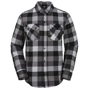 Volcom Shandy Plaid Flannel Long Sleeve Button Up